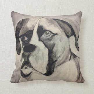 Boxer Puppy Love Pillow