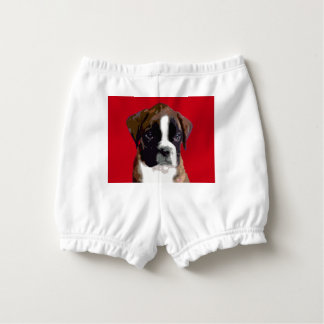 Boxer puppy nappy cover