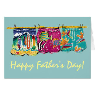 boxer Rebellion Father's Day Card