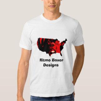 Boxer Red USA T-Shirt