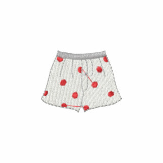 Boxer Shorts Embroidered Shirts