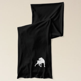 Boxer Silhouette Duet Scarf