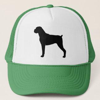 Boxer Silhouette Trucker Hat