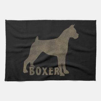 Boxer Tea Towel