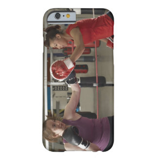 Boxer training with coach in gym barely there iPhone 6 case