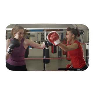 Boxer training with coach in gym iPhone 3 Case-Mate case