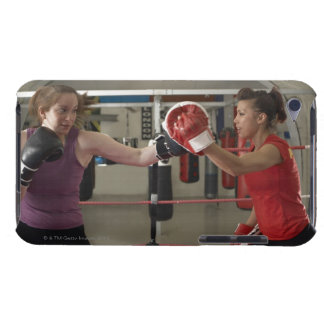 Boxer training with coach in gym iPod touch Case-Mate case