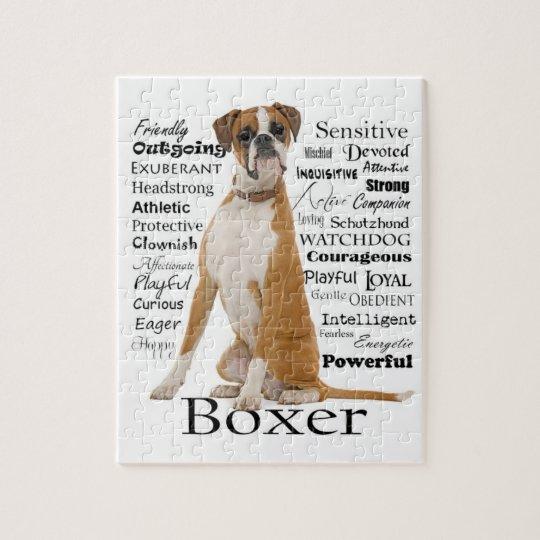 Boxer Traits Puzzle Zazzle Co Uk