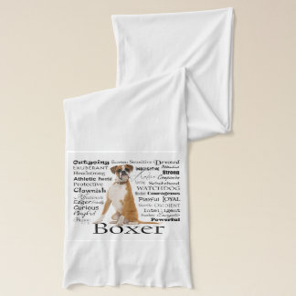 Boxer Traits Scarf