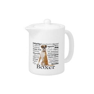 Boxer Traits Teapot