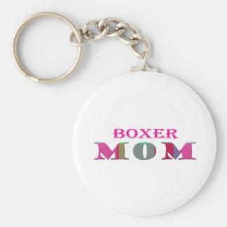 BoxerMom Key Ring
