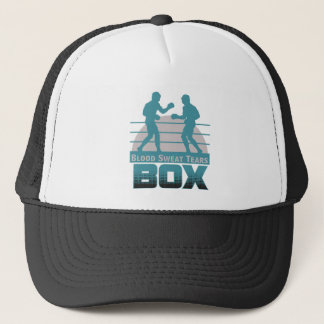 boxers sparring trucker hat