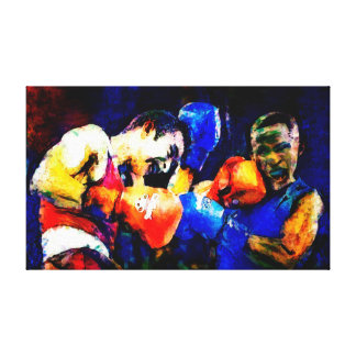 Boxers - Wrapped Canvas Art Print