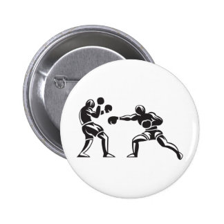 Boxing 6 Cm Round Badge