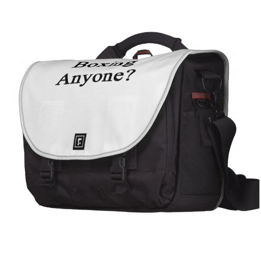 Boxing Anyone Laptop Bags