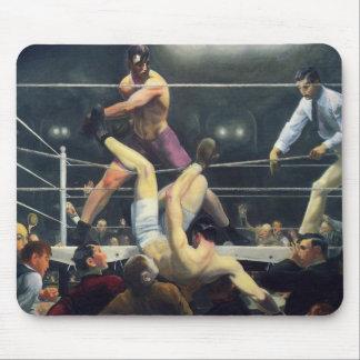 Boxing art mouse mat