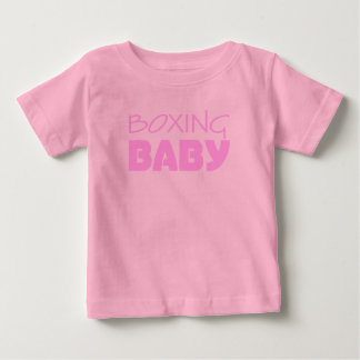 Boxing Baby Girl Wear Baby T-Shirt