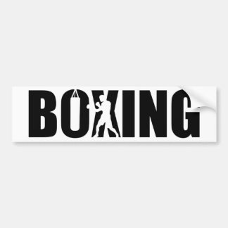Boxing Bumper Sticker