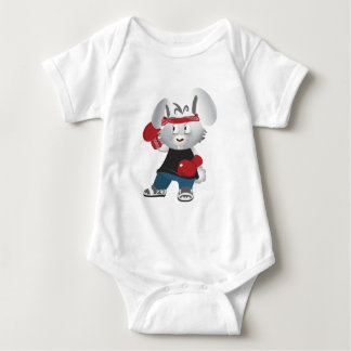 Boxing Bunny Baby Bodysuit