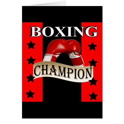 BOXING CARDS