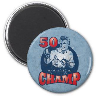 Boxing Champ 50th Birthday Magnet