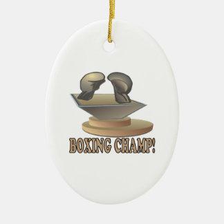 Boxing Champ Ornament