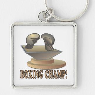 Boxing Champ Keychain