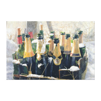 Boxing Day Empties 2005 Canvas Print