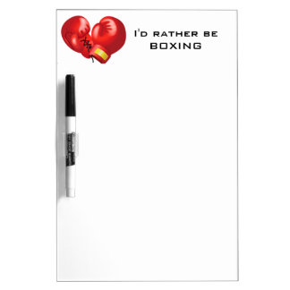 Boxing Design Dry Erase Board
