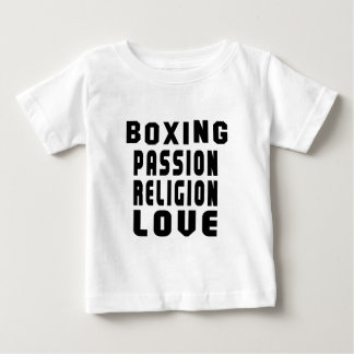 Boxing Designs Baby T-Shirt