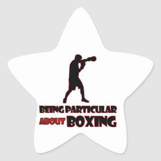 Boxing Designs Stickers