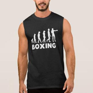 Boxing Evolution Sleeveless Tees