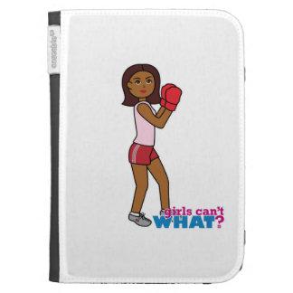Boxing Girl Kindle Keyboard Case