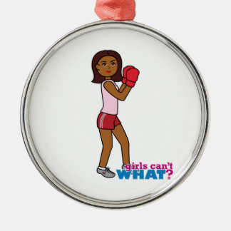Boxing Girl Christmas Tree Ornaments
