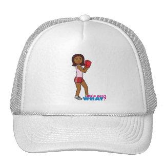 Boxing Girl Mesh Hat