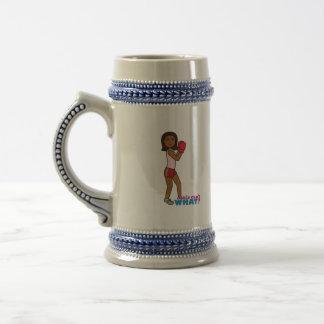 Boxing Girl Coffee Mug