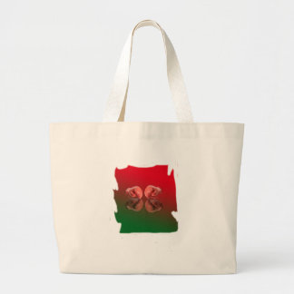 Boxing Glove With Background color Bags