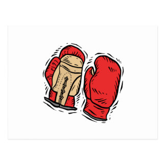Boxing Gloves 2 Post Cards