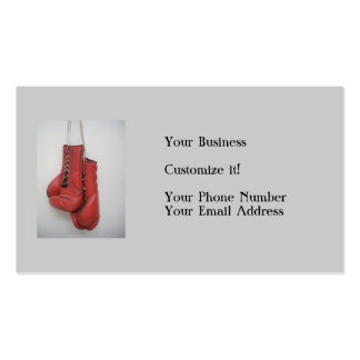 Boxing Gloves Business cards
