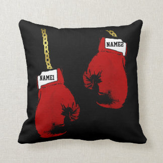 Boxing Gloves Personalized Cushion