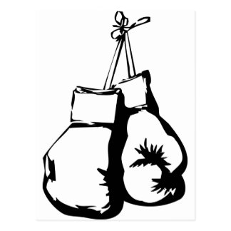 Boxing Gloves Postcards