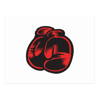 Boxing Gloves Postcards