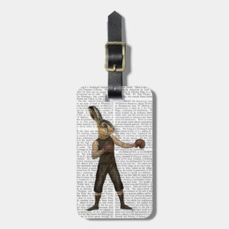 Boxing Hare Luggage Tag