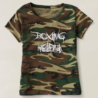 Boxing Helena Womens' 3-D Logo Shirt (Camouflage)