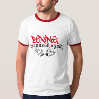 Boxing Honour and Loyalty T-Shirt