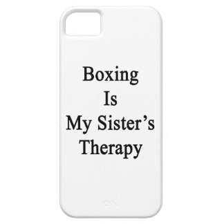 Boxing Is My Sister's Therapy iPhone 5 Case