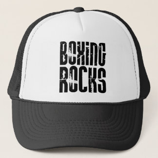 Boxing Rocks Trucker Hat