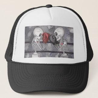 Boxing Skeleton Trucker Hat