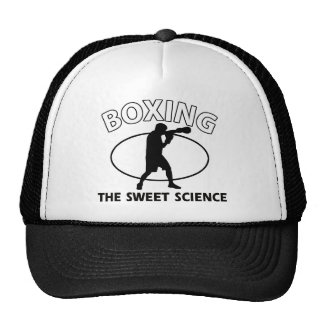 Boxing the sweet science cap
