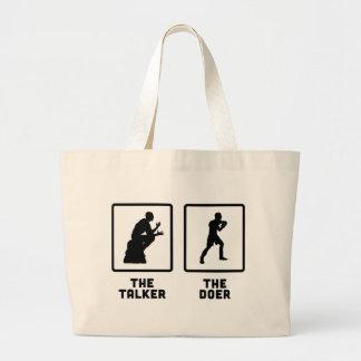 Boxing Jumbo Tote Bag